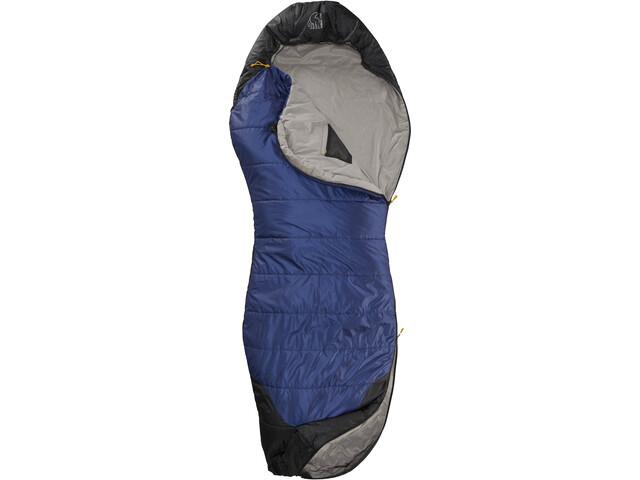 Nordisk Puk +10° Curve Sac de couchage XL, true navy/steeple gray/black